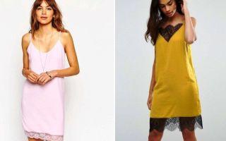 С чем носить платье-майку: фото сочетаний, как комбинировать с одеждой и обувью