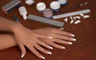 Наращивание ногтей гелем пошагово – рекомендации и советы