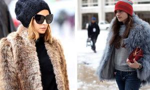 С каким головным убором носить норковую шубу, чтобы выглядеть роскошно и не замерзнуть в мороз