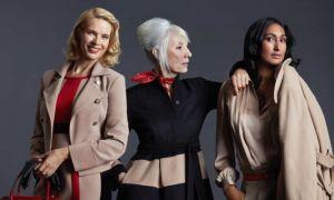 Пальто для женщин 50 лет: фото фасонов