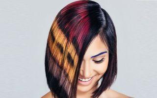 Пиксельное окрашивание волос: модная техника