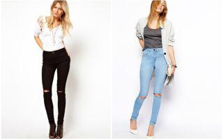 С чем носить джинсы с завышенной талией: секреты стиля