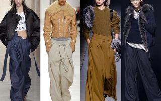 Модные женские брюки осень 2017: с фото и видео подборкой луков с подиумов и модных журналов