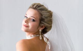 Серьги к свадебному платью – как правильно подобрать?
