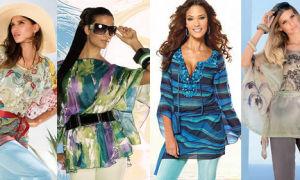 Модные туники для женщин: с чем и как носить в 2018 (фото)