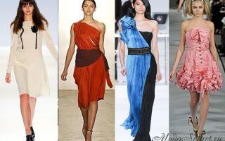 Модные фасоны платьев 2017-2018 года — в тренде интригующая женственность