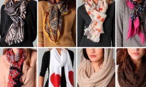 С чем и как носить палантин — оригинальные стильные решения