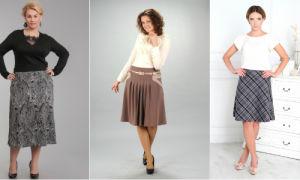 Фасоны юбок для женщин 50 лет — фото актуальных фасонов