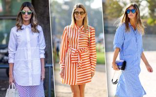 С чем носить платье-рубашку: основные тенденции этого сезона