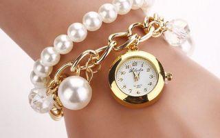 Часы-браслет женские: виды браслетов, под что носить и как правильно выбрать?