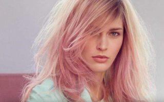 Как получить пепельно-розовый цвет волос?
