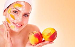 Персик для лица: полезные свойства и домашние маски