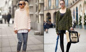 Модные свитера 2017 года: популярные тенденции и новые способы ношения