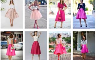 С чем носить розовую юбку: советы и готовые решения от мировых стилистов