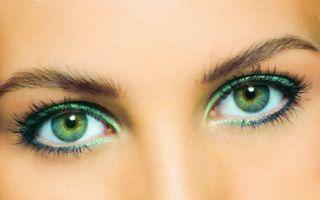 Макияж для зеленых глаз на выпускной: особенности макияжа юной девушки