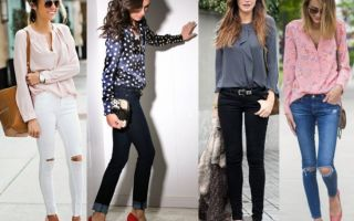 Как правильно носить джинсы разных стилей
