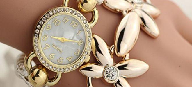 Часы наручные золотые женские — часы, как основной элемент стиля