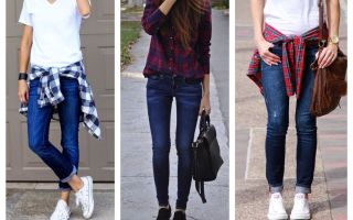 Скинни джинсы: с чем носить узкие джинсы в этом сезоне?