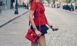 С чем носить красную сумку: делаем образ ярче и выразительнее