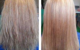 Как делать глазирование волос?