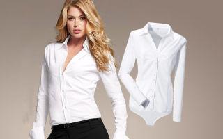 С чем носить рубашку боди: модные советы