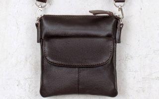 Модные сумки из кожи