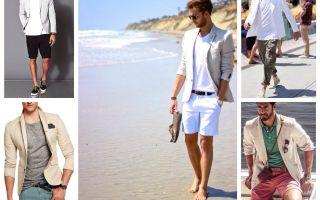 С чем носить мужской белый жакет: советы и удачные цветовые сочетания