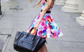 Как носить платье с завышенной талией: советы стилистов