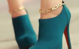 Обувь модная женская: ботильоны или сапоги-чулки?