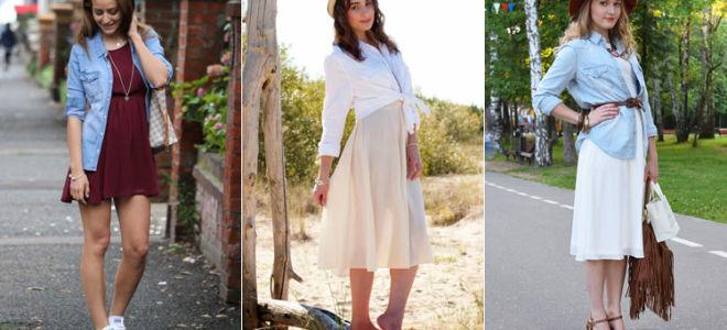 Шифоновое платье с чем носить и как сочетать?