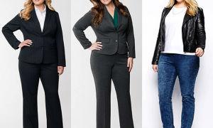 Брюки женские: модные тенденции для полных с фото интересных и новых образов