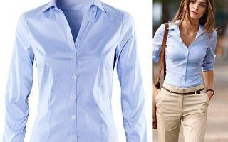 С чем носить женские рубашки: примеры и советы модных образов