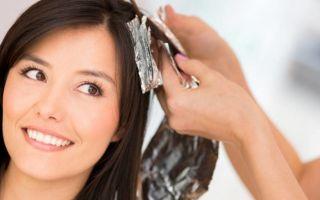 Как сделать колорирование на темные волосы?