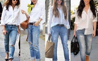 С чем носить синие джинсы: как создать оригинальный look?