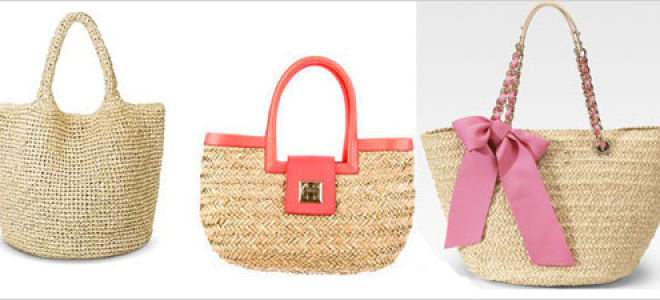 С чем носить сумки-корзинки?