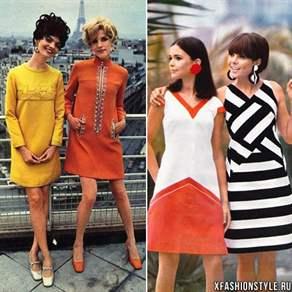 Блузки 60-х годов