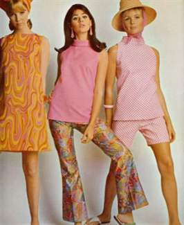 Стиль одежды 60 х фото с журналов модные образы