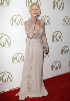 The 25th Annual Producer Guild of America Awards at The Beverly Hilton Hotel Featuring: Helen Mirren Where: Beverly Hills, California, United States When: 19 Jan 2014 Credit: FayesVision/WENN.com