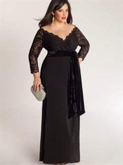 Модель вечернего платья большой размер
