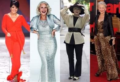 Мода для пожилых женщин после 60 фото платья и прически