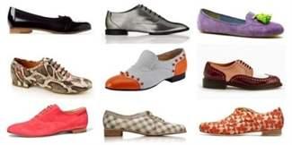 Женские туфли без каблука  фото утончённой обуви на плоском ходу 2ea21ca1c9eba