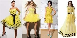 Какие украшения подойдут к желтому платью
