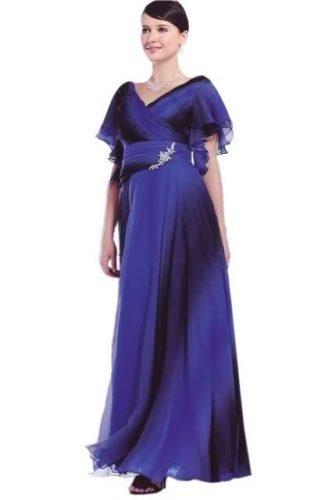 Вечерние платья для женщин от 45 лет
