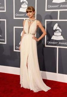 arrives at the 55th Annual GRAMMY Awards at Staples Center on February 10, 2013 in Los Angeles, California.