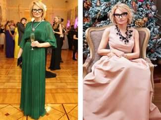 Вечерние платья фото после 40 лет