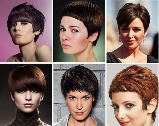 Модные стильные причёски картинки