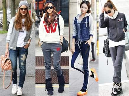 Как одеваться спортивно и стильно девушке