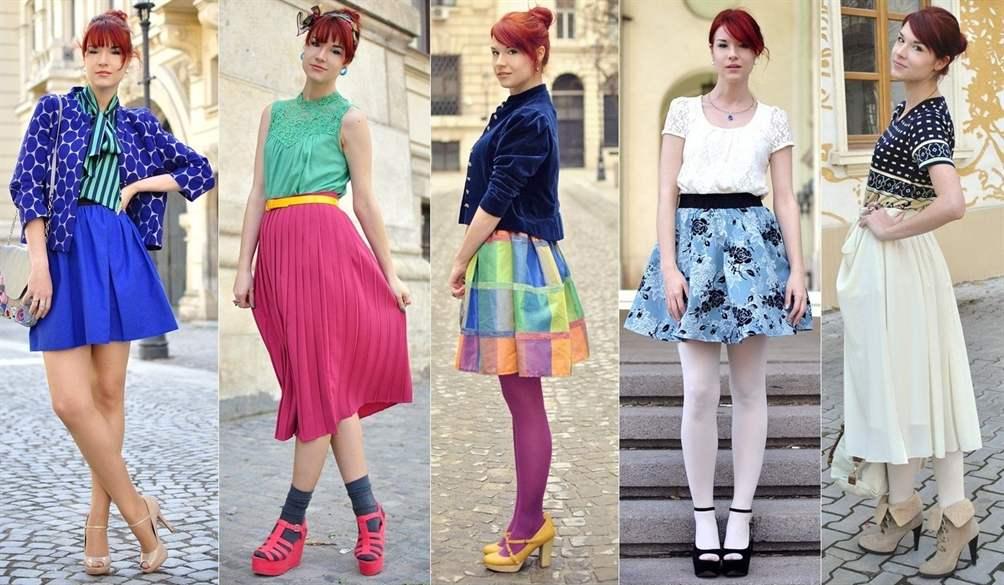 Какая юбка в моде фото