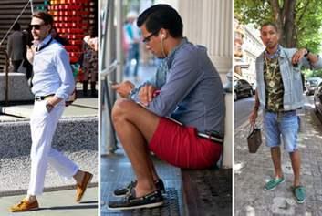 Продолжая тему, с чем носить мокасины мужчинам, ответим на вопрос многих  модников, с какой одеждой носить данную обувь и как правильно ее сочетать  по цвету  138c6ddcf20