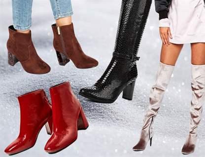 Модная обувь женская зима 2017